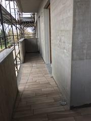Recupero delle acque per non sporcare la facciata