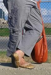 Gigi (2771) (Duke of Slippers) Tags: ballet slippers shoes flats pumps soft soles souliers scarpe ballerinas ballerines panoufles pantofole fetish
