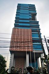 Kantor Pusat BNPB (Ya, saya inBaliTimur (leaving)) Tags: jakarta building gedung architecture arsitektur office kantor