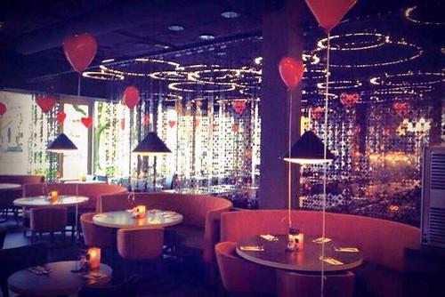 Heliumballonnen Hartballonnen Valentijnsdag Restaurant Vandaag Utrecht