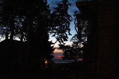 Sunset on the lake (itsmimi111) Tags: sunset lake trasimeno italia italy umbria