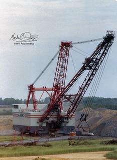 AMAX Coal Company Bucyrus Erie 3270W (Delta Mine)