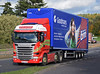 Hayton Coulthard Scania R450 WP65YBE on the A90, Dundee, Sep 2017 (andyflyer) Tags: haytoncoulthard scaniar450 wp65ybe lorry truck hgv transport roadtransport haulage