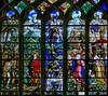 Église Saint Étienne-du-Mont à Paris (Denis Krieger) Tags: vitrail vitraux vitrais farbfenster glasmalerei vetrata colorata stained glass windows