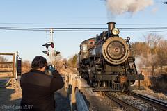 Buff Interest (Dan A. Davis) Tags: newhopeivyland steamlocomotive newhope newhopeandivylandrailroad nhi nhi40 280 buckscounty lahaska pa pennsylvania passengertrain railroad locomotive