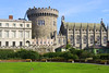 Dublin Castle (chrisdingsdale) Tags: old eire wall city blue tower irish castle dublin famous garden europe ireland citadel vintage capital european landmark building historic fortress monument defensive courtyard stronghold neobaroque architecture heritage park exterior outdoor