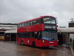 Airport Safety System (londonbusexplorer) Tags: metroline travel volvo b5lh wrightbus gemini 3 vwh2384 lk67ekz 105 heathrow central greenford station tfl london buses