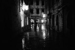 Silhouettes (Koprek) Tags: leicam2summaron35mm2 kodaktrix film 1600 croatia dubrovnik wind cold rain december 2017