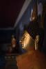 Statue at the Wat Prathat Doi Suthep, Chiang Mai, Thailand (jonasfj) Tags: nikond750 35mm nikkor 3514g temple wat watprathatdoisuthep chiangmai thailand asia southeastasia statue buddha buddhism religion payrespect mountain view gorgeous monk monks profile light gold orange hall ear sumanathera dhammaraja nunaone