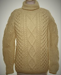 Aran turtleneck wool sweater (Mytwist) Tags: sellpy aran tn cream donegal irish wool sweater jumper style fashion knit retro woollen design love passion turtlemeck aranstyle aranjumper aransweater ireland fisherman unisex crem ivory pattern cabled cables sweaters dublin fuzzy fair fishermansweater grobstrick handgestrickt heritage jersey pullover pulli old timeless exclusive modern bulky chunky cozy