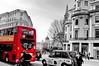 London's Rush Hour Traffic (The Phoenix Girl) Tags: architecture bus traffic london uk city cityscape trafalgarsquare unitedkingdom england londoner londonist nationalgallery rushhour street streetphotography urban greatbritain trafficjam composition artwork transport travel europe