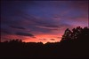 (✞bens▲n) Tags: contax g2 provia 100f carl zeiss 45mm f2 film analogue slide japan nagano sky evening clouds sunset
