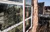Algae (The Crewe Chronicler) Tags: window glass putty nissen nissenhut huts canon canon7dmarkii ww2 history pow powcamp camp