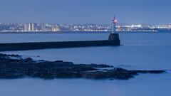 South Breakwater, Blue Hour.jpg (___INFINITY___) Tags: 6d aberdeen lighthouse torrybattery blue bluehour canon darrenwright dazza1040 eos infinity longexposure night scotland sea seascape southbreawater