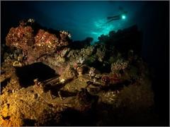 Abu Nuhas Reef. Carnatik wreck