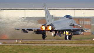 ZJ802/802 TYPHOON 11sqn RAF