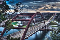 Life goes on (Suchi Kotnala) Tags: coloradoriver austin360 pennybackerbridge sony sunset texas austin