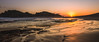 Sunset colors (hjuengst) Tags: sunset robberg naturereserve southafrica gardenroute orange panorama light ocean indianocean plettenbergbay westerncape