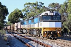 3MP9 Clapham 17/01/2018 (Dom Quartuccio) Tags: 3mp9 ldp003 ldp002 csr003 sct logistics train trains rail railway railroad sa south australia adelaide intermodal clapham ldp downeredi hired