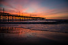 Jolly Roger Pier (Chris Powell Photo) Tags: ocean northcarolina sunrise atlantic seascape oceanpier pier