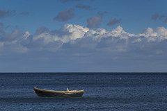 Herbst 2017 29102017 174 (Dirk Buse) Tags: sierksdorf schleswigholstein deutschland deu olympus omd zuiko pro mft m43 germany boot meer sea wolken himmel ruhe stimmung em1 12100
