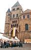 Germany.  April 16th.-19th. 2002 (Cynthia of Harborough) Tags: 2002 architecture banners cathedrals entrances notices people towers