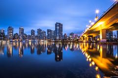 January 22, 2018. (Amanda Catching) Tags: today longexposure light city skyline vancouver false creek