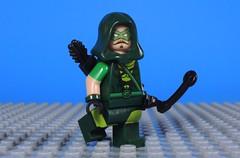 Rebranding and Update! (Read Description for more Info) (Metarix (MrKjito)) Tags: lego super hero minifig green arrow custom bow dc comics decal head oliver queen rebranding