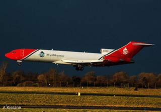 T2 AVIATION B727 G-OSRB