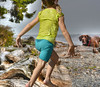 Fun Times At Rocky Beach (swong95765) Tags: bear beach dog driftwood ocean shore girl kid animal run