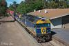 Numurkah (Henry's Railway Gallery) Tags: g515 b76 g512 gclass bclass emd diesel clyde cfcla chicagofreightleasingaustralia qubelogistics freighttrain containertrain 9375 tocumwal numurkah