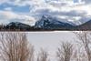 Mount Rundle – 4 (Roy Prasad) Tags: mountain mount rundle banff albarta canada prasad royprasad travel sony mountrundle lake vermillion ice snow nature winter