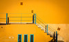 Sunkissed staircase (femmaryann) Tags: marrakech outside outdoors architecture stairs blue yellow intensecolours beautiful