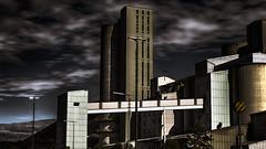 Gris univers (Fred&rique) Tags: lumixfz1000 photoshop raw hdr allemagne usine industriel sombre industrie