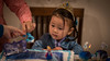 Welcoming the reign of the terrible three. (kuntheaprum) Tags: caitlin birthday nikon d750 samyang 85mm f14 baby family portrait frozen