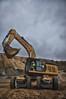 CAT 349E - Sleipner E50 (xnoszam) Tags: cat caterpillar bergerat monnoyeur pelle excavator 349e chariot sleipner e50 carrière