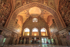 Chehel Sotoun Palace, Isfahan, Iran (Feng Wei Photography) Tags: islamicculture persianculture middleeast isfahan art persian landmark colorimage lowangleview dome islamic traveldestinations unesco famousplace builtstructure iran iranianculture travel window chehelsotounpalace islam architecture fresco unescoworldheritagesite tourism ceiling horizontal irn