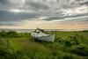 Boat  (Ægissíða) explored #39# (einisson) Tags: boat ægissíða reykjavík iceland ísland grass clouds outdoor landscape nature einisson canon