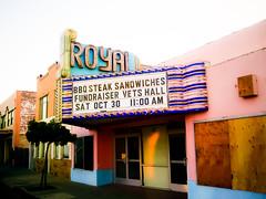 Royal (Thomas Hawk) Tags: california guadalupe royaltheater usa unitedstates unitedstatesofamerica neon theater fav10 fav25