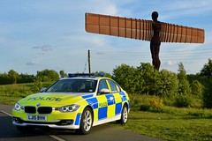 LJ15 BVH (S11 AUN) Tags: northumbria police bmw 330d 3series xdrive saloon anpr traffic car roads policing unit rpu motor patrols 999 emergency vehicle lj15bvh