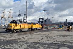 UP YSF70-25 (caltrain927) Tags: union pacific railroad san francisco belt bay pier 96 emd gp60 california ca