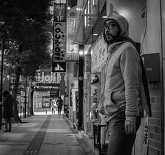 I'm not smoking! (Bill Morgan) Tags: fujifilm fuji x100f bw jpeg acros street kichijoji tokyo