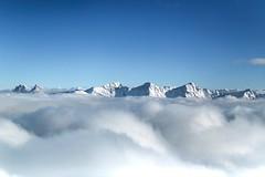 La Gruyère - Moléson / Ref.03273 (FRIBOURG REGION) Tags: thuccreative suisse schweiz switzerland fribourgregion fribourgrégion lagruyère moléson hiver winter préalpes prealps voralpen montagne mountain berg ski nature natur outdoor neige schnee snow sommet gipfel top brume fog nebel