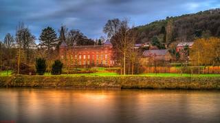 Castle Along River (BE)