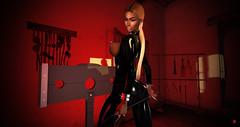 who will be my slave ? (XITA KIRA) Tags: slave dommedsmaitreya catwa xita transgender trans ts second life sl