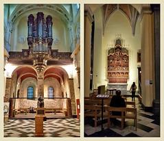 Dans la Collégiale Saint-Denis, Liège, Belgium (claude lina) Tags: claudelina belgium belgique belgïe liège collégiale collégialesaintdenis église church orgue retable