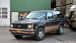 Chevrolet Blazer 4.3 V6 T-10 1989
