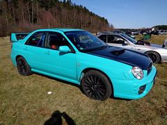 Subaru Impreza (911gt2rs) Tags: treffen meeting show event tuning wrx sti sedan limousine spoiler türkis flugplatz meinerzhagen gd gda