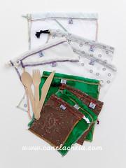 upcycle (Canela Cheia) Tags: talegos bags compras eco produce reuse reutilizar sacos semdesperdício stringbag zerolixo zerowaste
