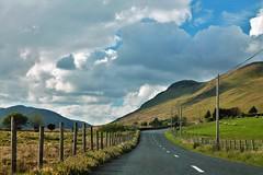 Road (Kasimir) Tags: ireland road carretera clouds connemara green nature nwn